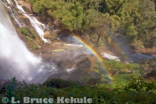 Wachirathan Waterfall in Doi Inthanon