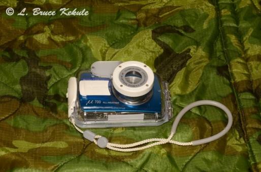 Olympus U-700 digital camera and underwater housing