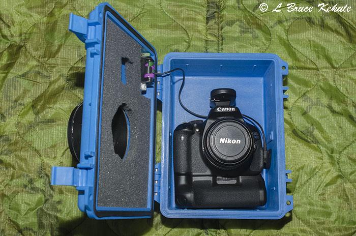 Canon-Nikon Hybrid trail cam