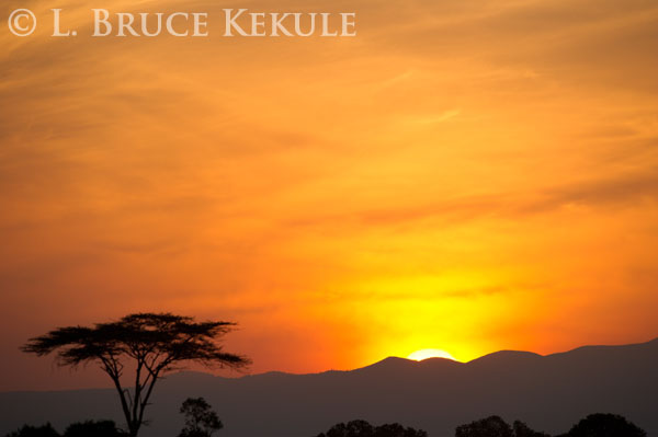 Sunrize at Mount Kenya