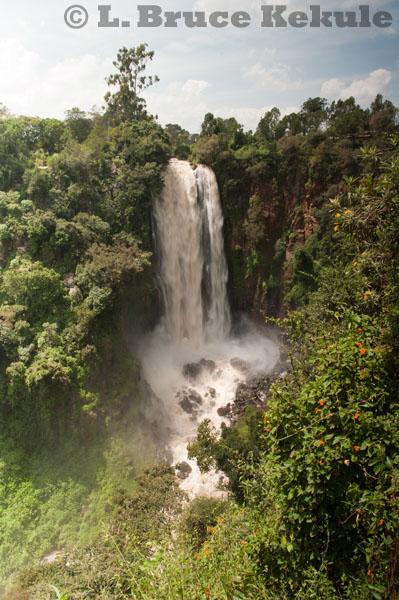 Thompson Falls in Kenya