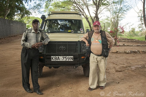 Patrick and me in Taita Wildlife Sanctuary