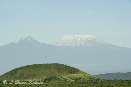 Mount Kilomanjaro from Tsavo West NP