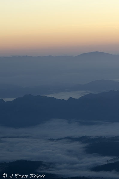 Sunrise from Doi Chiang Dao
