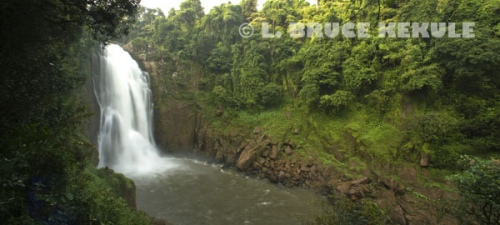 Haew Narok Waterfall in Khao Yai