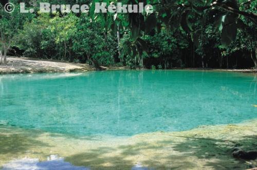 Emerald pond in Khao Nor Chuchi