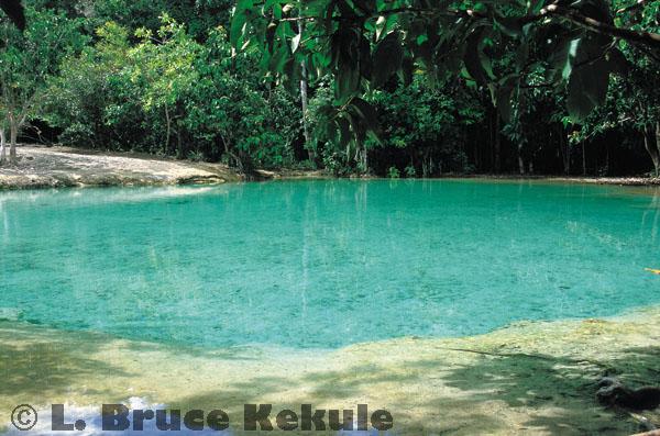 Emerald Pool in Khao Phra Bang Khram