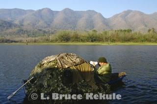 LBK and old boat-blind