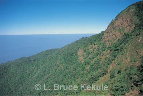 Kiew Mae Pan cliff in Doi Inthanon National Park