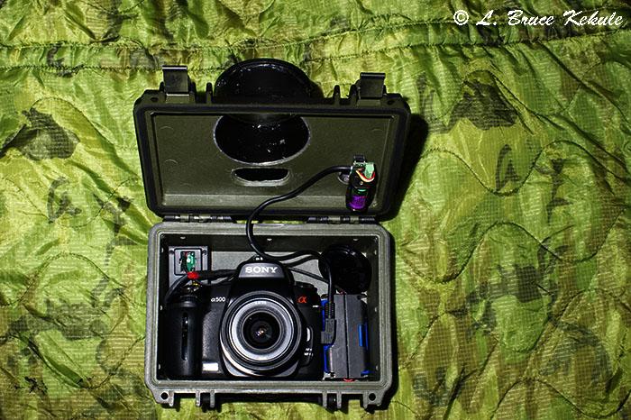 Sony A500 trail cam 1