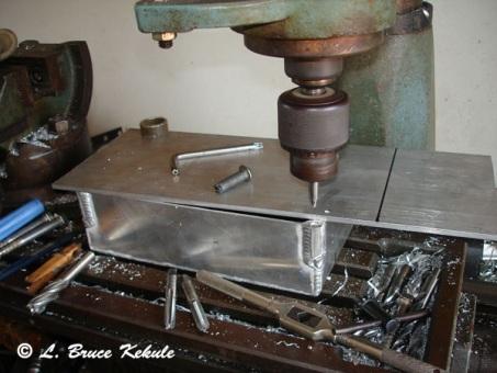 Machining box for DXG 125 video cam