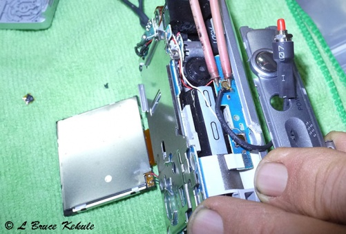 Sony S600 on-off switch repair