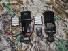 Nikon SB-80 and SB-28 flashes with 'Easy' FM Radio transmitter and receivers