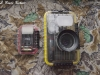 Nikon D90 trail cam and Achiever flash in PLano boxes