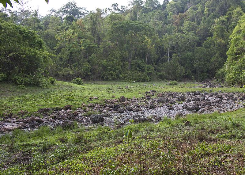 Kabook Kabieng hot springs in Huai Kha Khaeng
