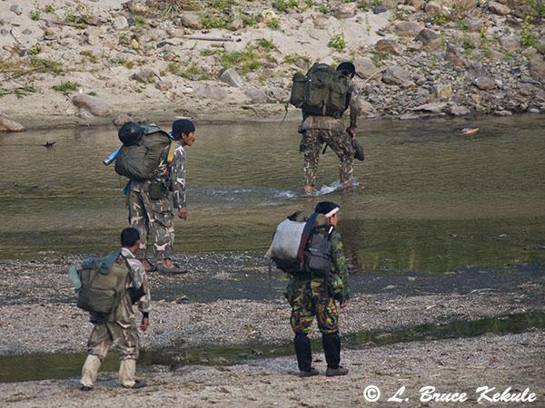 Rangers leaving on patrol