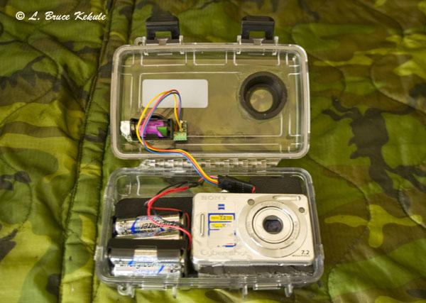 Sony W55 in Otter 2000 case