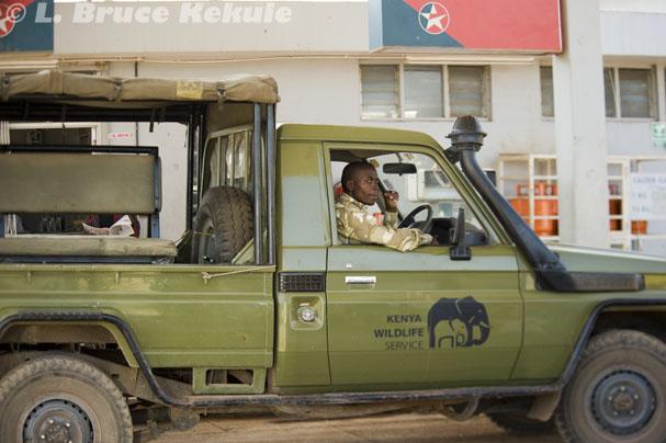 Kenyan ranger - Wildlife Service