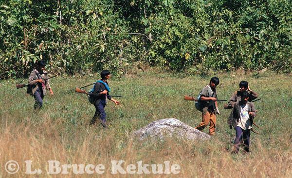 Poachers in Huai Kha Khaeng WS