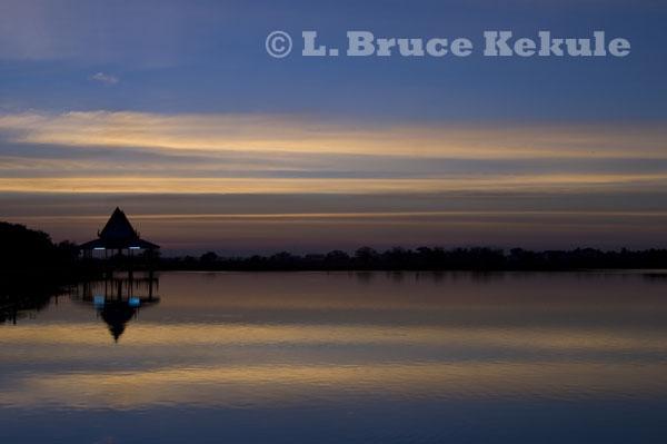 Sunset in Phetchaburi