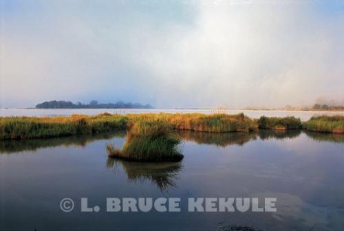 Sunrize at Chiang Saen Lake, Nong Bong Kai Non-hunting area