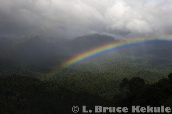 Rainbow over Kaeng Krachan